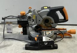 Multipurpose Sliding Mitre Saw (210mm), Serial Number: R3S- (Location: Brentwood: Please Refer to