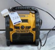 DeWalt DCR020-GB Compact Digital DAB Radio (Location: Brentwood: Please Refer to General Notes)