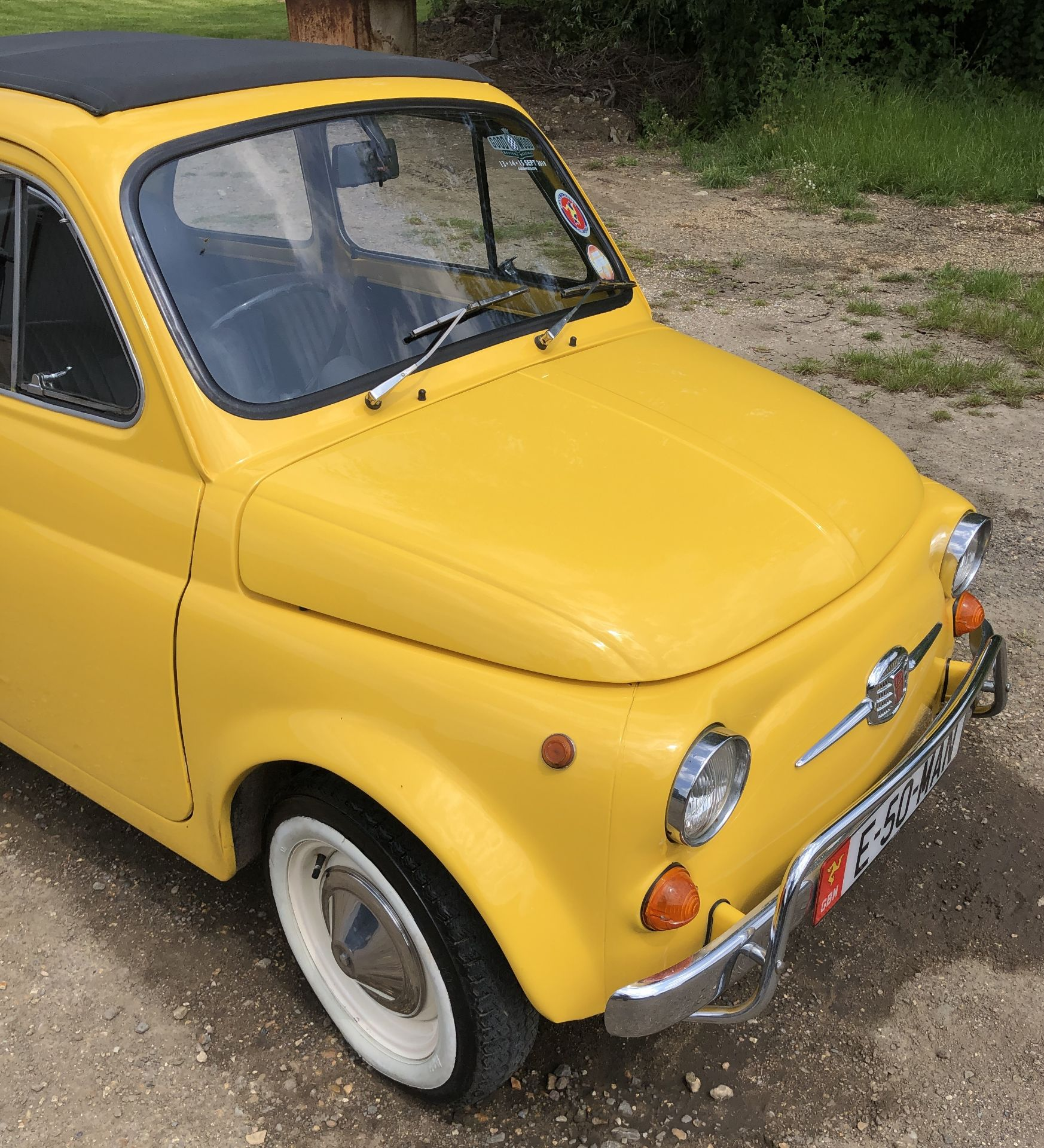 1972 Fiat 500 Saloon, Registration E-50-Man (IOM, Formally Registered as TGF 249L), First Registered - Image 11 of 34