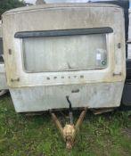 Sprite 400 Classic Caravan For Restoration (c. Early 1970s), 10ft Body Length, Originally 4 Berth (