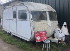 Carlight Classic Caravan For Restoration, Well Fitted Interior (Location: Bognor Regis. Please Refer