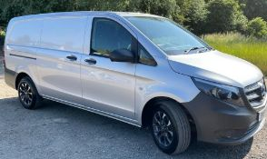 Mercedes Vito Panel Van, Registration Number BM19 WFB, First Registered 28th June 2019, First MOT