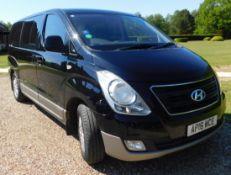Hyundai I800 2.5 SE CRDi 8-Seat MPV (Euro 05/Euro06 M53AZ1), Registration AP16 WCE, First Registered