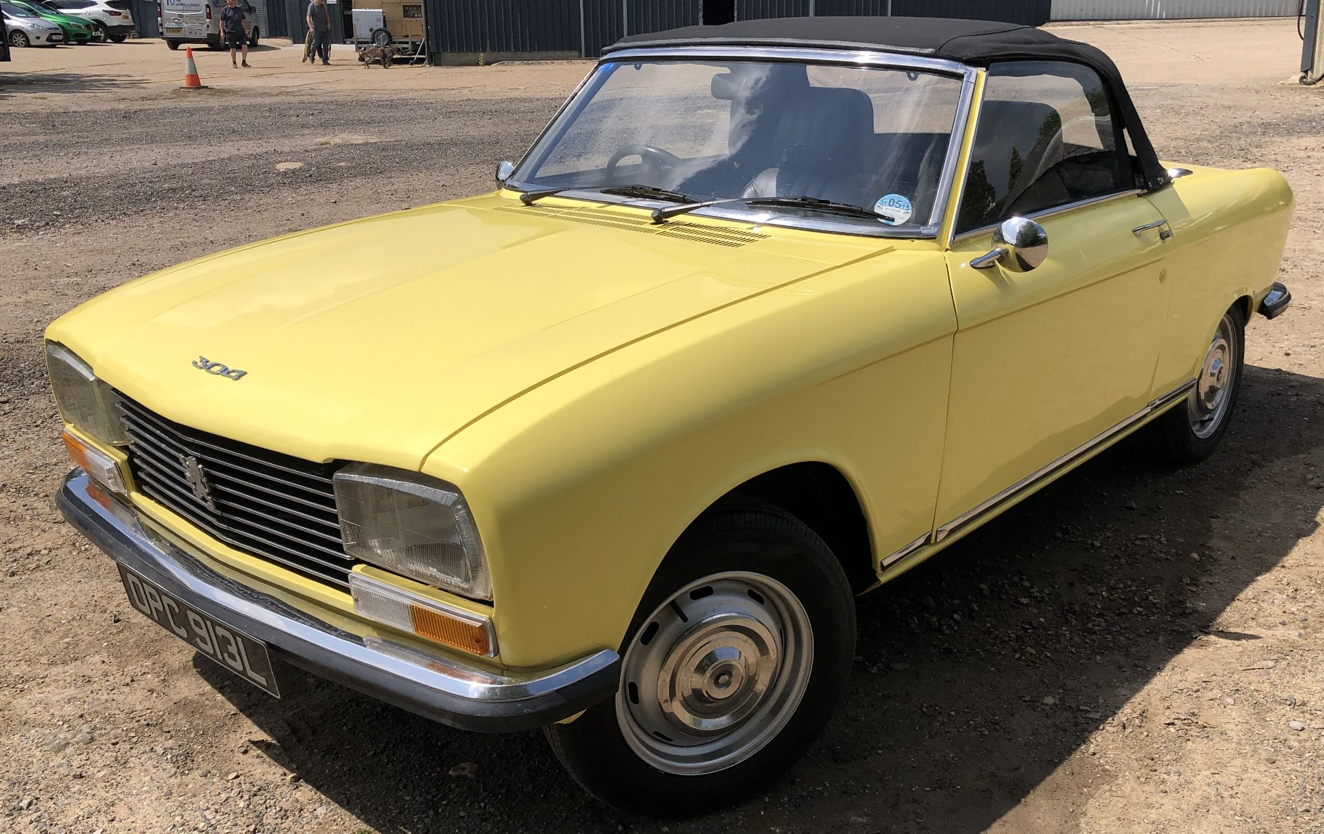 Rare Right Hand Drive Peugeot 304 Convertible, Registration OPC 913L, First Registered 2nd - Image 7 of 48