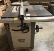 """Axminster """"Trade"""" Model AW128582 Table Saw, Serial Number 215NO, 600mm x 800mm, 3-Phase, ("""