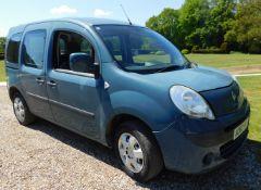 Renault Kangoo 1.45 DCi 110 Expression, AO60 MVJ, First Registered 26th November 2010, MOT Expired