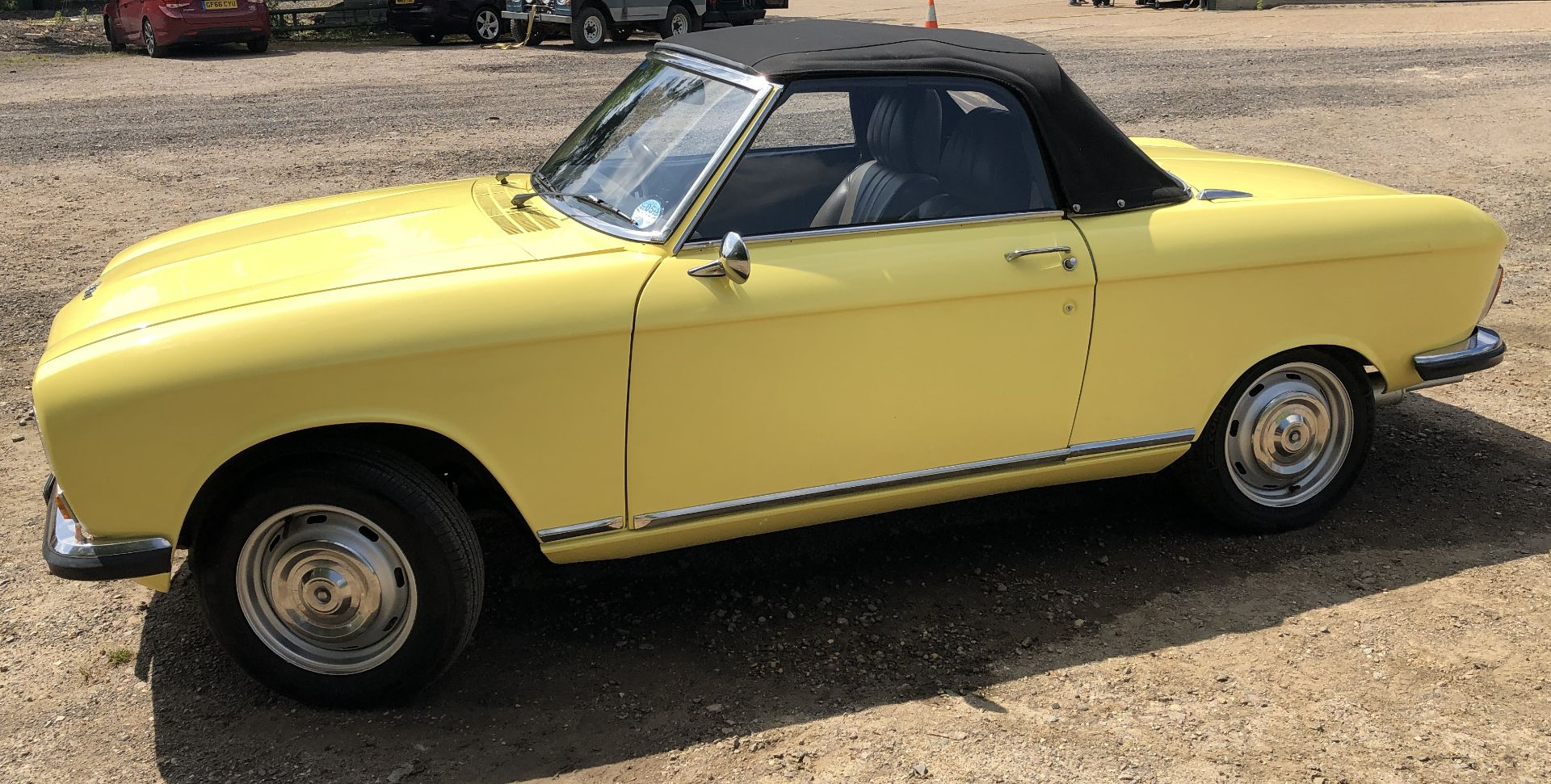 Rare Right Hand Drive Peugeot 304 Convertible, Registration OPC 913L, First Registered 2nd - Image 6 of 48