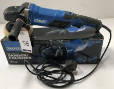 Draper 180mm Sander/Polisher, 230v (Location: Brentwood. Please Refer to General Notes)