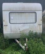 Ci Cadet 10 Classic Caravan For Restoration, Mini 10ft Length with 4 Berth Layout (c.1978)(