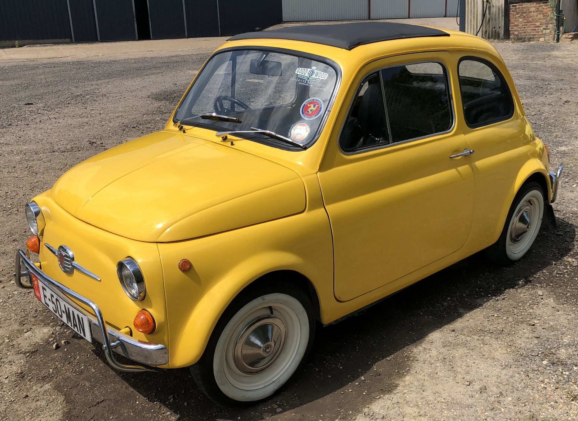1972 Fiat 500 Saloon, Registration E-50-Man (IOM, Formally Registered as TGF 249L), First Registered - Image 8 of 34