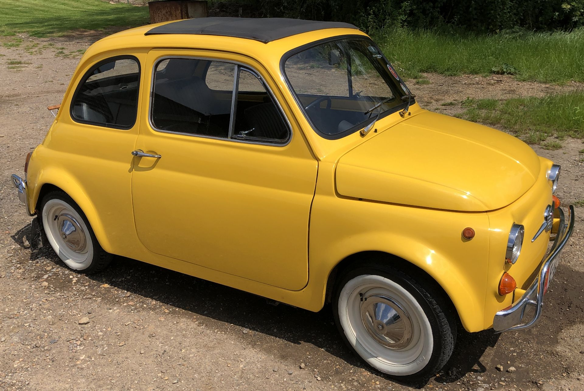 1972 Fiat 500 Saloon, Registration E-50-Man (IOM, Formally Registered as TGF 249L), First Registered - Image 2 of 34