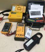 "Robin KMP4122 Loop tester, ""Socket & See"" CB200, Metrotest MDM 501 Mustimeter & Hager HT1 Multimeter"