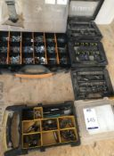 Quantity of Fixings, Cutters etc (Location: Bognor Regis. Please Refer to General Notes)