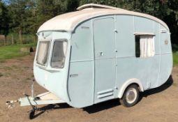 "Cheltenham Classic 2-Berth Caravan (1970) ""Lucy""(IMPORTANT NOTE: The caravan has no lights so"
