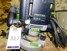 Festool OF 2200 EB Router & Quantity of Accessories (240v) (Location: Stockport. Please Refer to