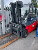 Linde E30 4 Wheel Electric Forklift (2008) 3000Kg Capacity, Serial Number; G1X336W50734 with Side