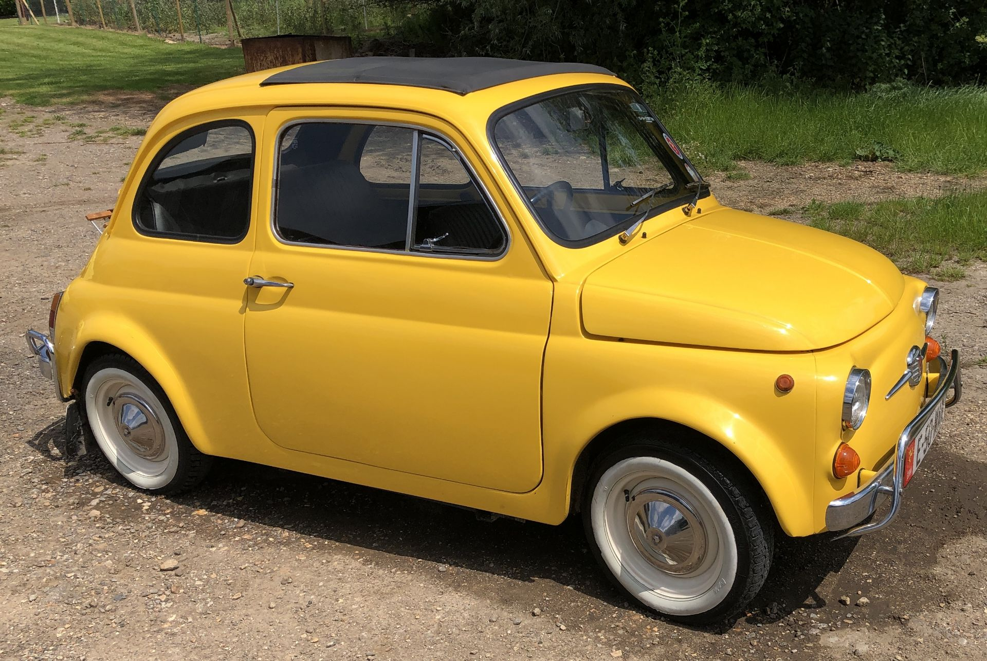 1972 Fiat 500 Saloon, Registration E-50-Man (IOM, Formally Registered as TGF 249L), First Registered - Image 4 of 34