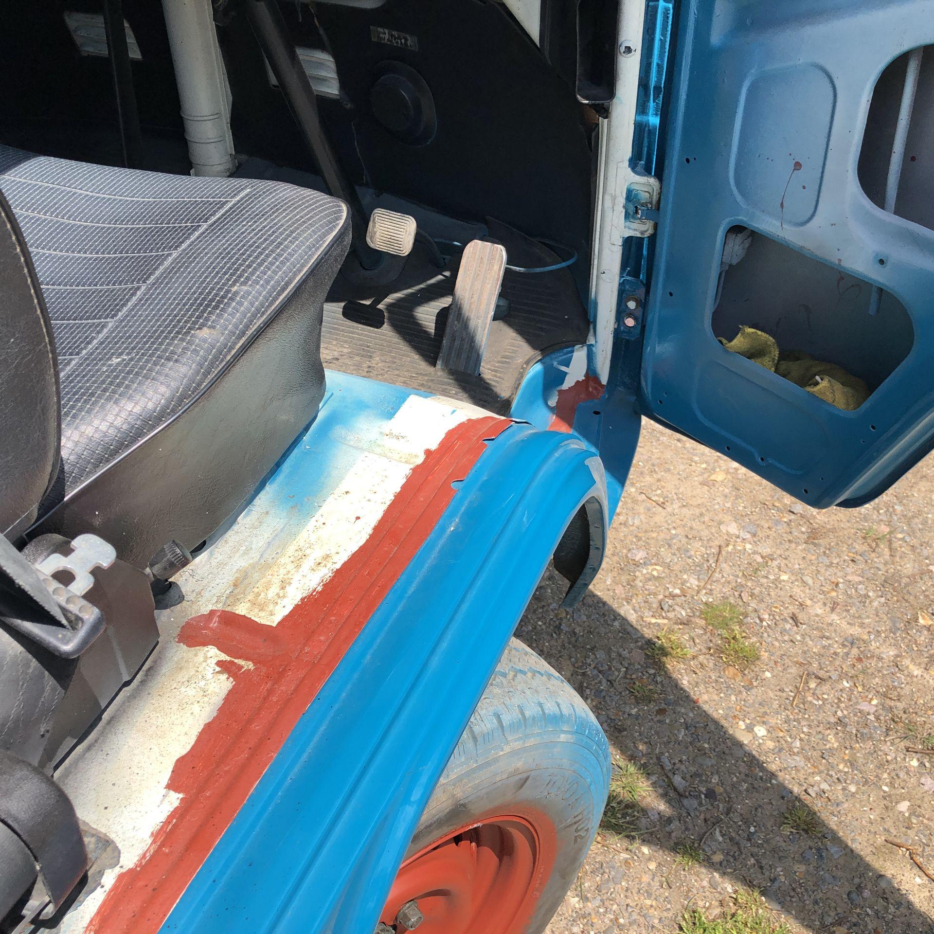 VW Microbus 8 Seater Caravanette Devon - 'Mr Blue' Petrol, Registration UMH 420S, First Registered - Image 34 of 47