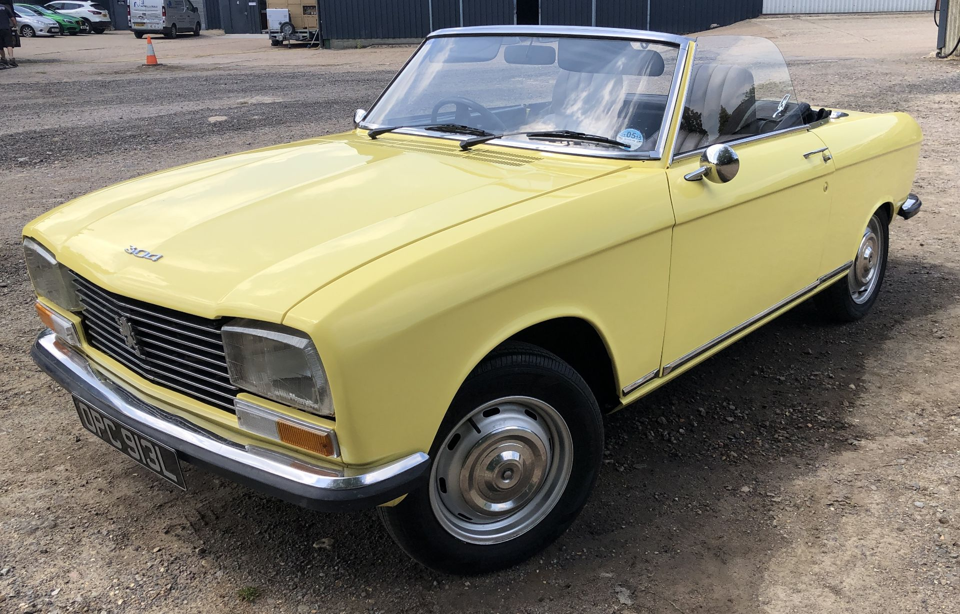 Rare Right Hand Drive Peugeot 304 Convertible, Registration OPC 913L, First Registered 2nd - Image 17 of 48