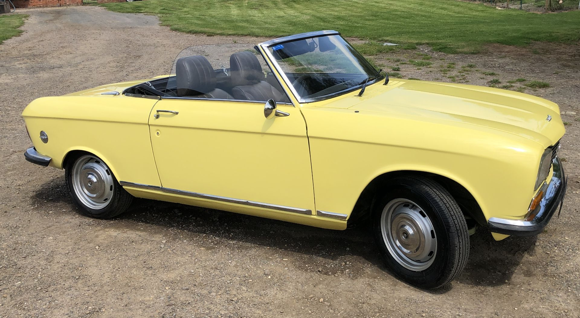 Rare Right Hand Drive Peugeot 304 Convertible, Registration OPC 913L, First Registered 2nd - Image 14 of 48