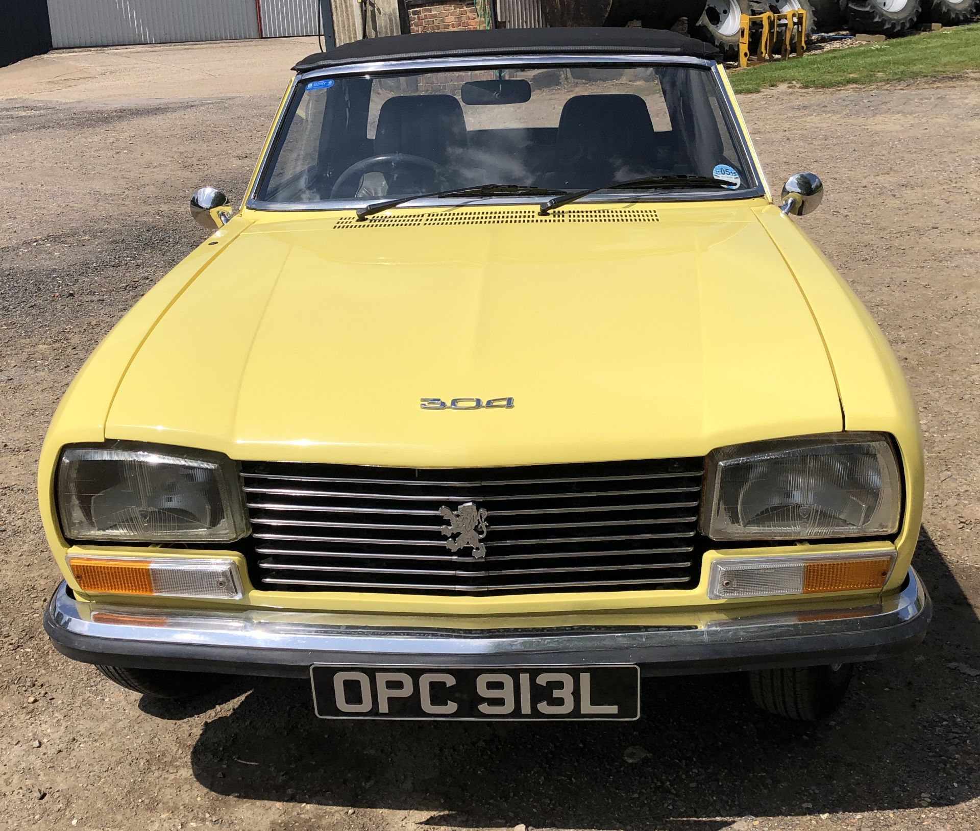 Rare Right Hand Drive Peugeot 304 Convertible, Registration OPC 913L, First Registered 2nd - Image 8 of 48