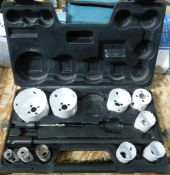 Incomplete Holesaw Set (Located: Barton-le-Clay. Please Refer to General Notes)