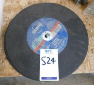 7 Duro Steel Cutting Discs 300mm (Located: Barton-le-Clay. Please Refer to General Notes)