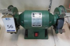 """Warco RG-150 6"""" Heavy Duty Double Ended Bench Top Grinder (Location: Brentwood. Please Refer to"""