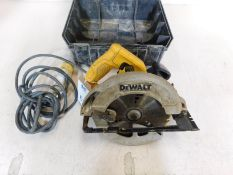 DeWalt DWE560 Compact Circular Saw, 110v (Location: Brentwood. Please Refer to General Notes)
