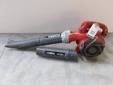 Cobra Leaf Blower with Extension (Location: Brentwood. Please Refer to General Notes)