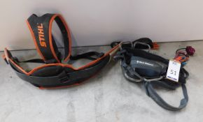 Black Diamond Harness & another, similar, Stihl (Location: Brentwood. Please Refer to General