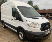 Ford Transit 350 L2 FWD, 2.2 TDCi 155ps H2 Van Panel Van (Euro 5), Registration YC64 HKO, First