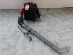 Unbadged Backpack Leaf Blower (Location: Brentwood. Please Refer to General Notes)