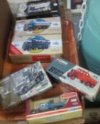 Tray of boxed diecast models mainly Corgi Classics and heavy haulage. (7) (B.P. 21% + VAT)