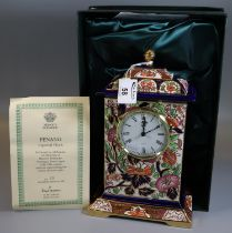 Masons Ironstone 'Imperial' clock no. 28 in a limited edition of 1996, Penang. In original box. (B.