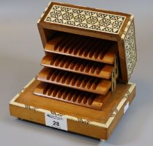 20th Century Middle Eastern design musical cigarette box. (B.P. 21% + VAT) Currently not working