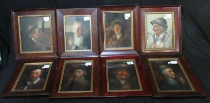 British school (late 18th/early 19th Century), a collection of portraits of gentlemen, various,