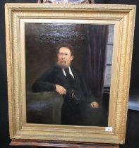 ?British? School (19th Century), portrait of a gentleman believed to be Thomas Harries, an