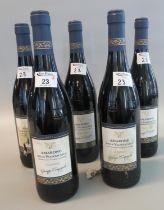 Five bottles of 2003 Amarone Della Valpolicella Classico red wine by Giuseppe Campagnola, 750ml, 15%