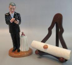 Royal Doulton 'Prestige' bone china figurine 'Michael Doulton' HN4653, limited edition with