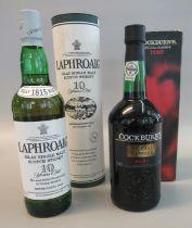 Laphroaig Islay single malt Scotch whisky 10 years old, 70cl, 40% volume, in original box,