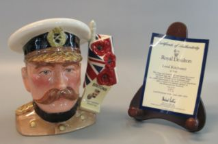 Royal Doulton character jug 'Lord Kitchener' D7148 modelled by David Biggs, limited edition of