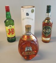 Collection of whisky to include Old Pulteney, single malt aged 12 years, Glen Ord single malt aged