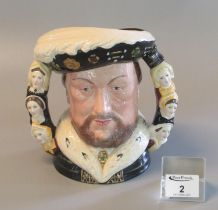 Royal Doulton character jug 'King Henry VIII' D6888, in celebration of the 500th Anniversary of