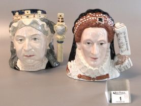 Royal Doulton Classics character jug of the year 2003 'Queen Elizabeth I' D7180 limited edition 42/