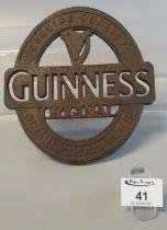 Guinness cast metal advertising teapot stand. (B.P. 21% + VAT)