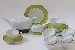 Portugese SPAL porcelain tea service