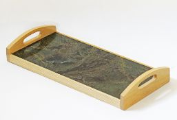 Carving green marble board