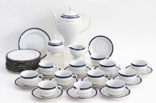 Vintage porcelain tea set.