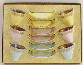 Vintage Porcelain coffee cups.